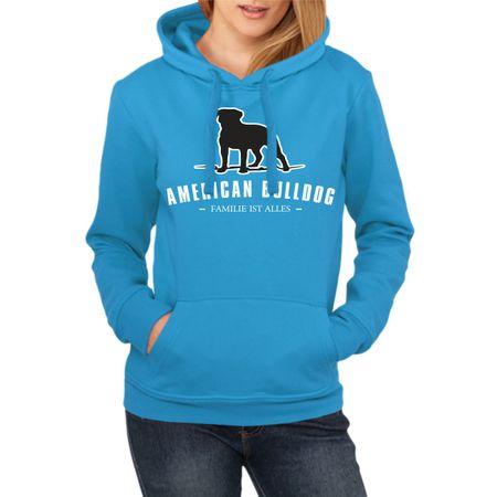 Frauen Kapu American Bulldog - Familie ist alles