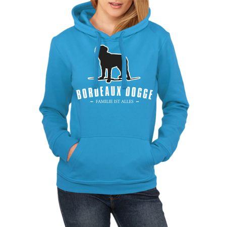 Frauen Kapu Bordeaux Dogge - Familie ist alles