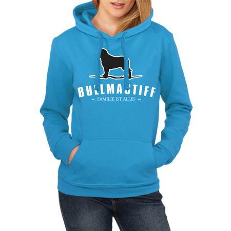 Frauen Kapu Bullmastiff - Familie ist alles
