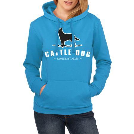 Frauen Kapu Cattle Dog - Familie ist alles