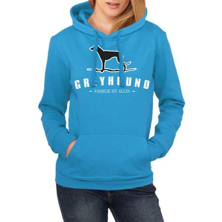 Frauen Kapu Greyhound - Familie ist alles