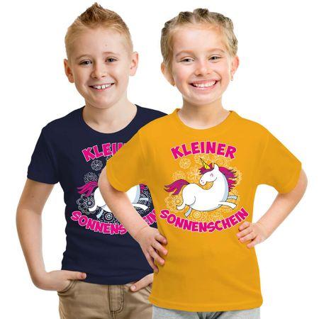Kinder T-Shirt Kleiner Sonnenschein
