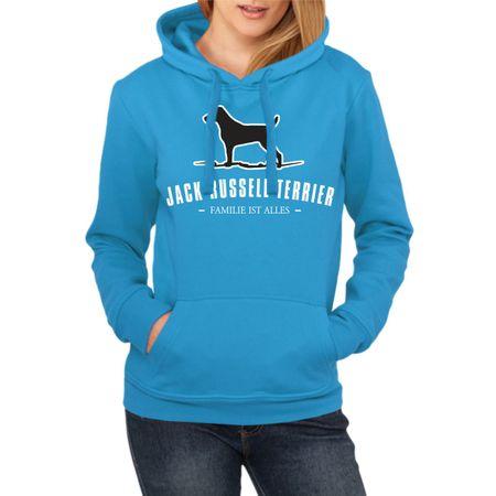 Frauen Kapu Jack Russell Terrier - Familie ist alles