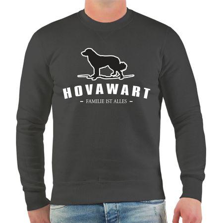 Männer Sweatshirt Hovawart Silhouette