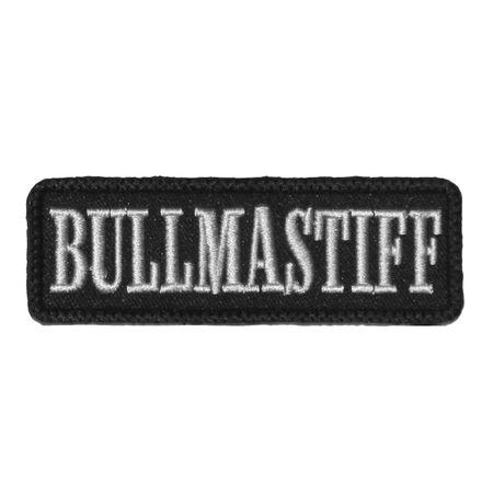 Wechselbarer Patch Bullmastiff