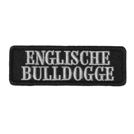 Wechselbarer Patch Englische Bulldogge