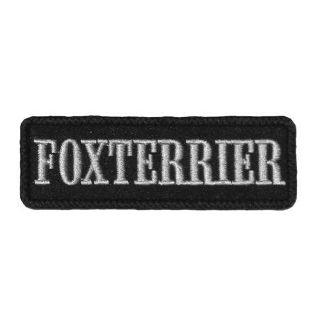Wechselbarer Patch Foxterrier