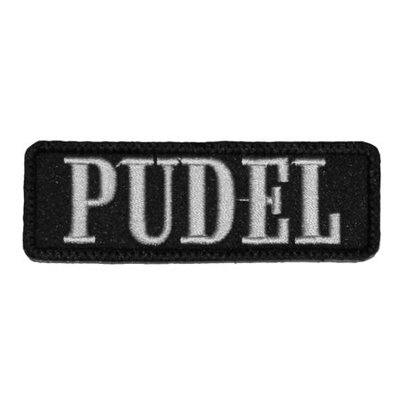 Wechselbarer Patch Pudel