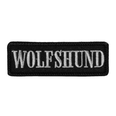 Wechselbarer Patch Wolfshund