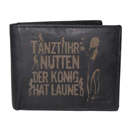 Brieftasche Tanzt ihr Nutten Rind Leder