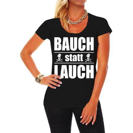 Frauen Shirt Bauch statt Lauch
