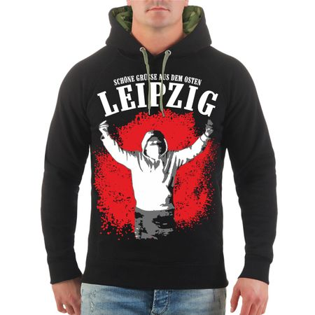 Männer Kapu Leipzig Schöne Grüße aus dem Osten