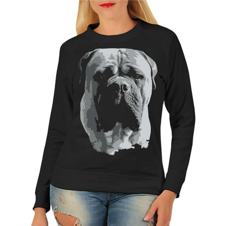 Frauen Sweatshirt Bullmastiff