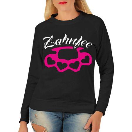 Frauen Sweatshirt Zahnfee PINK Schlagring