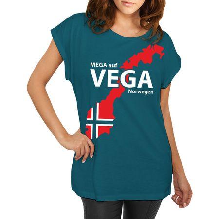 Frauen Shirt Norwegen Angelurlaub