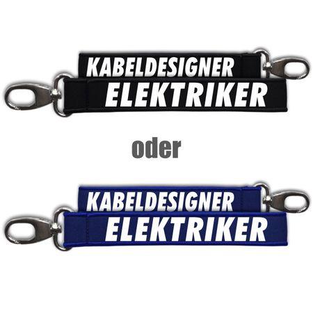 Neopren Schlüsselanhänger Elektriker