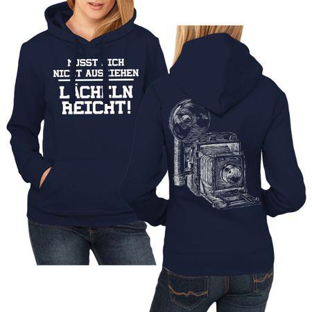 Frauen Kapu Fotografin LÄCHELN REICHT