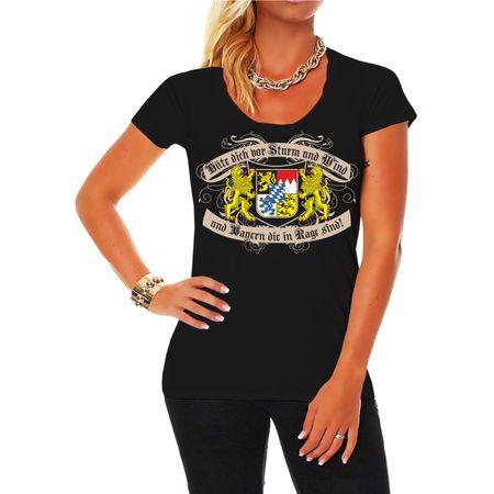 Frauen Shirt Hüte dich Bayern