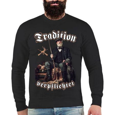 Männer Sweatshirt Waidmannsdank