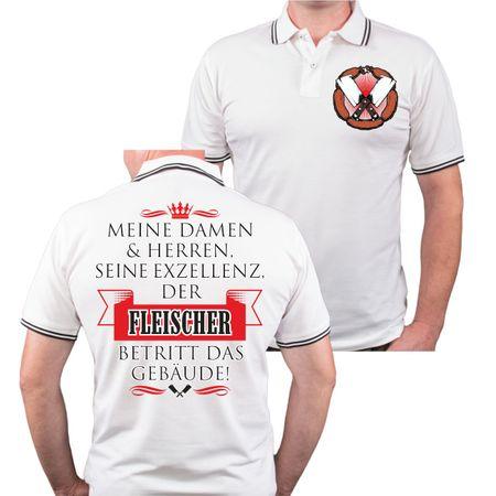 Männer POLO Seine Exzellenz DER FLEISCHER
