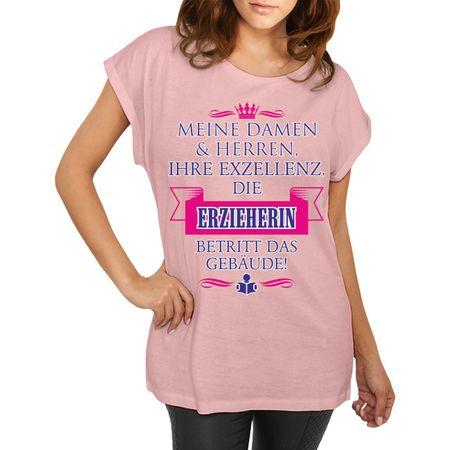 Frauen Shirt Ihre Exzellenz DIE ERZIEHERIN