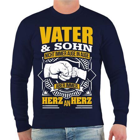 Männer Sweatshirt Vater & Sohn