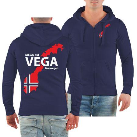 Männer Kapuzenjacke Norwegen Angelurlaub