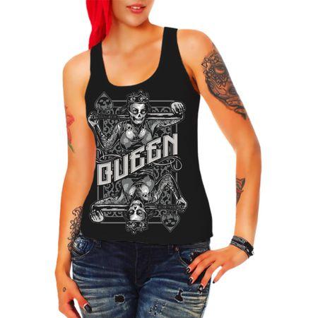Frauen Trägershirt Queen
