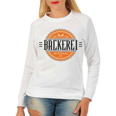Frauen Sweatshirt Bäckerei mit Tradition
