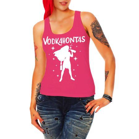 Frauen Trägershirt Vodkahontas