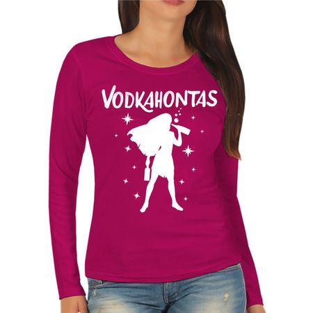 Frauen Longsleeve Vodkahontas