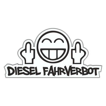 Aufkleber Diesel Fahrverbot