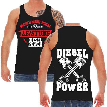 Männer Träger Wenn's nicht russt hat's keine Leistung Diesel Power