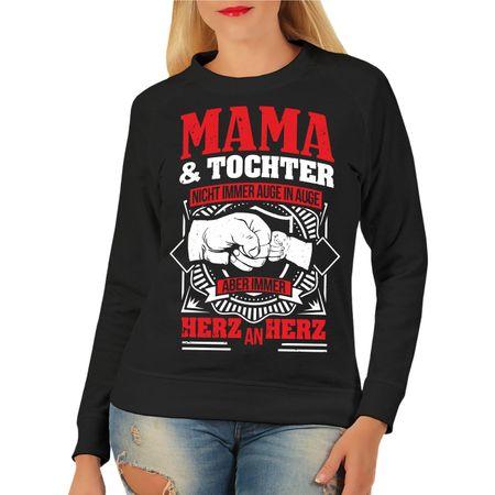 Frauen Sweatshirt Mama & Tochter