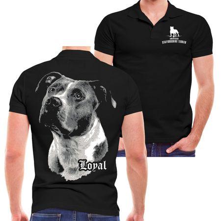 Männer POLO American Staffordshire Terrier - treuer Freund