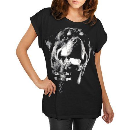 Frauen Shirt Rottweiler Deutsches Kulturgut