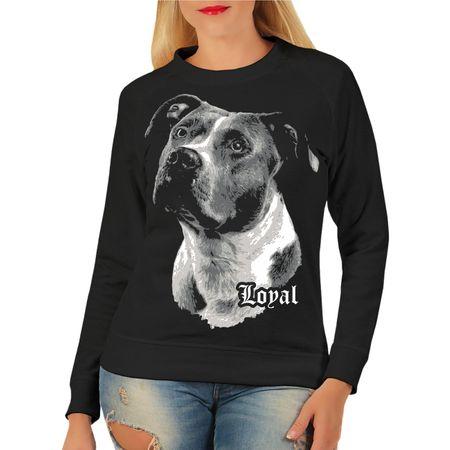 Frauen Sweatshirt American Staffordshire Terrier - treuer Freund