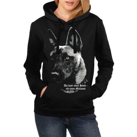 Frauen Kapu Malinois - Du hast einen Hund...