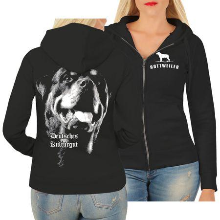 Frauen Kapujacke Rottweiler Deutsches Kulturgut
