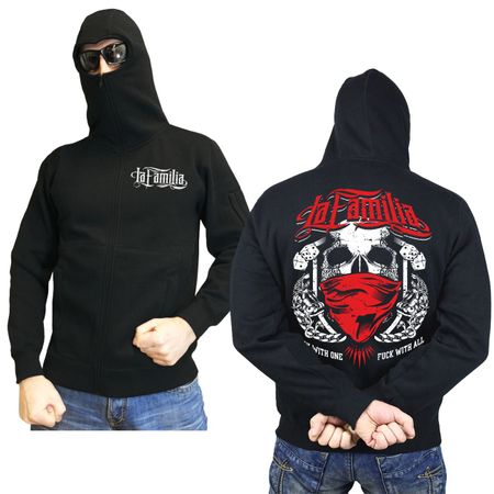 Ninja Kapuzenjacke La Familia - Fuck with one