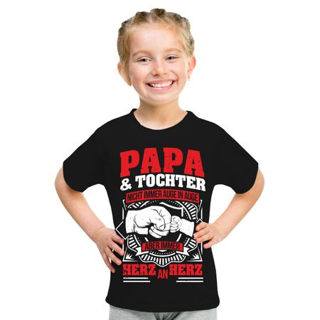 Kinder T-Shirt Papa & Tochter