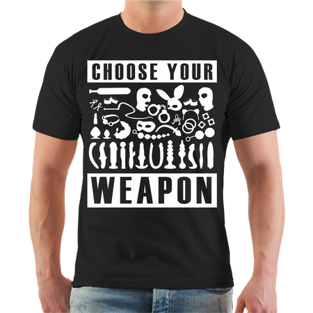 Männer T-Shirt Choose your Weapon