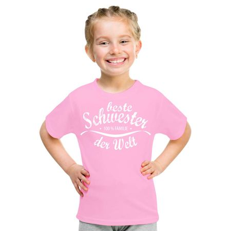 Kinder T-Shirt Beste Schwester