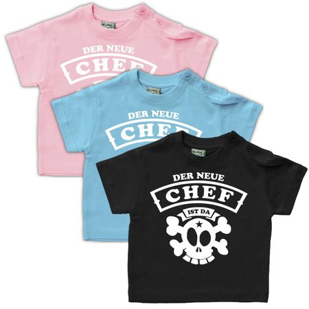 Baby Shirt Der neue CHEF ist da