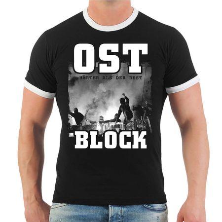 Männer T-Shirt OST BLOCK Härter als der Rest