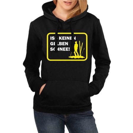 Frauen Kapu Ski Snowboard Iss keinen gelben Schnee