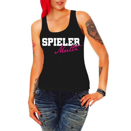Frauen Trägershirt Spieler Mutti