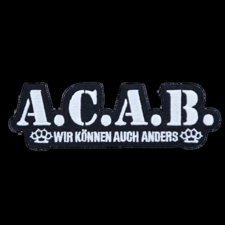 Bügel Aufnäher A.C.A.B.