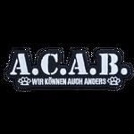 Bügel Aufnäher A.C.A.B. 001