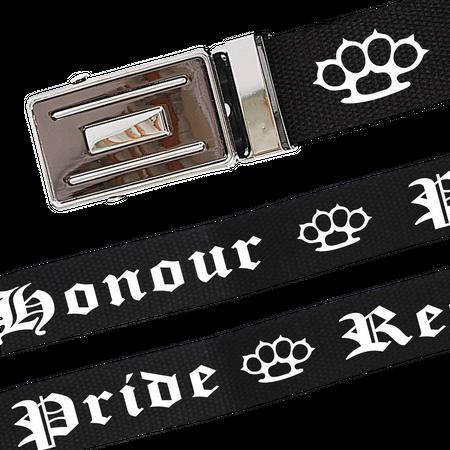 Gürtel Honour Pride Respect